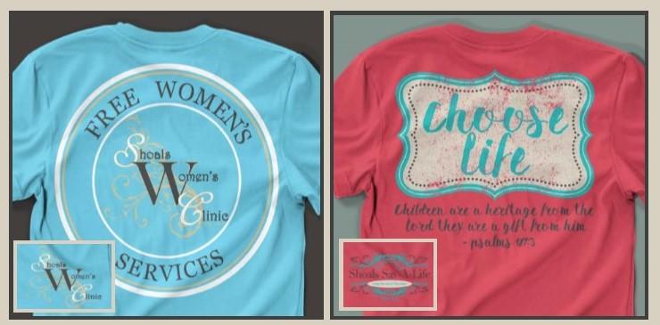 Shoals Sav-A-Life t-shirts